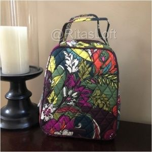 Vera Bradley Lunch Bunch Bag Tote - Autumn Leaves